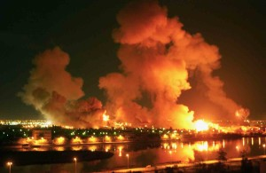 Initial-Baghdad-bombing-IraqWar-19March2003